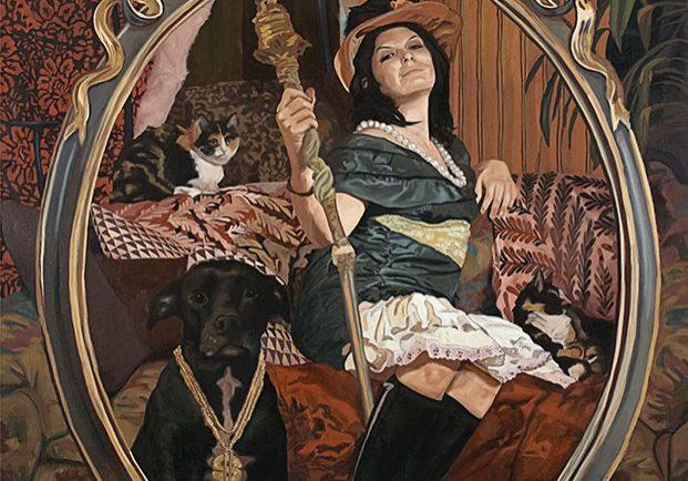 "Bling bling (le secret du bonheur), 124,5 x 152 cm (49"" x 60""), 2009"